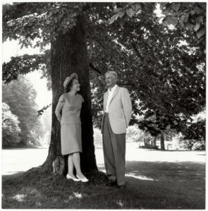Prentice and Virginia Bloedel. Photo courtesy of Virginia Wright Bloedel