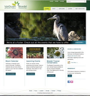 VanDusen website